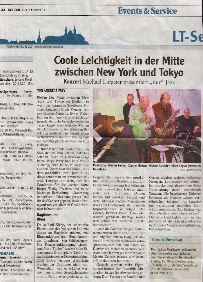 Landsberger Tagblatt 23.01.2013